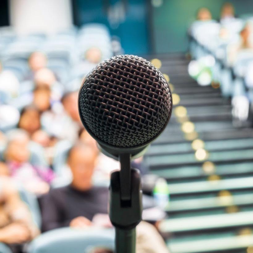 Speaker Mic - Hire a Corporate Speaker